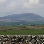 Southerness view of Criffel Hill